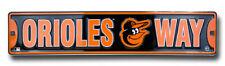 Orioles Way Baltimore Orioles Street Sign