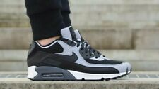 Nike Air Max 90 Essential Black Grey White UK Size 7 537384 053