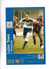 LUTON TOWN V WREXHAM 13/02/1999 DIVISION 2  (6)