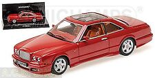 Bentley Continental SC Sedanca 1996-2000 rot red metallic 1:43 Minichamps