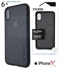 Étuis, housses et coques noirs Incipio Pour iPhone X pour téléphone mobile et assistant personnel (PDA)