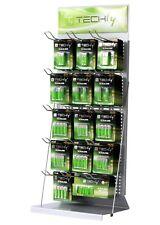 Techly Présentoir Stand en vente libre pour Batterie 80cm