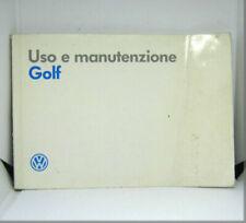 Manuali e istruzioni Golf per auto Volkswagen per Volkswagen