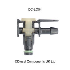 VW 2.0 TDI Diesel Injector Leak Off Connector 90 Degree End Connector