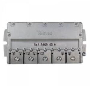 Televes 5469 6Way TV Aerial Indoor Splitter + Televes 4163 Outdoor Grey Case Kit