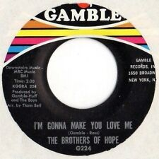 The Brothers Of Hope / I'm Gonna Make You Love Me - Nickol Nickol / Gamble 1968