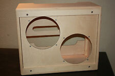 rawcabs Custom hand crafted 2x10 empty pine Blues Junior combo cabinet Project