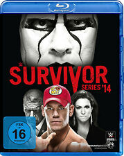 WWE Survivor Series 2014 BLU-RAY DEUTSCHE VERKAUFSVERSION