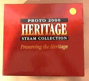 PROTO 2000 HERITAGE HO 23296 0-8-0 LOCOMOTIVE #132 & LC&L TENDER DCC SOUND OB