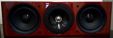 Kef Reference Series 202c Centre Channel Speaker - High Gloss Cherry - Ex Demo