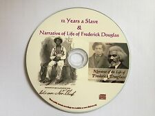 12 years a slave / Life of Frederick Douglass - eBook and Audio book Mp3 CD