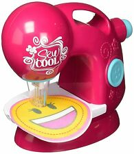 Sew Cool Pretend Play Sewing Machine Workshop Toy Kitchen Ages 6+ Girls Project