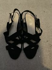 BNWT Black Strappy Sandals (size 9)