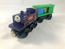 CULDEE #4 and BOX CAR Learning Curve RARE HTF Thomas and Friends Wooden Train