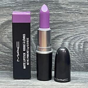 MAC Matte Lipstick 635 LAVENDER JADE FULL SIZE IN BOX NEW & AUTHENTIC