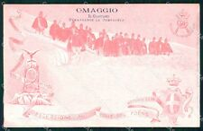 Militari Reggimentali 60º Reggimento Fanteria Colle Foens cartolina XF5176