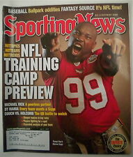WARREN SAPP 2003 SPORTING NEWS MAGAZINE Tampa Bay Buccaneers