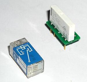 Ersatz für ERNI Relais REL 14 A ... ( replacement solution)  5V 12V 15V 24V 60V