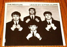 THE BEATLES LEAVE MY KITTEN ALONE PICTURE SLEEVE ONLY ~ ORIGINAL STORE STOCK