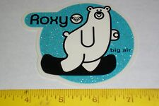 VTG 90's HUGE ROXY HAWAII BEACH GIRL HEART SURF SNOWBOARD SKATEBOARD NOS STICKER