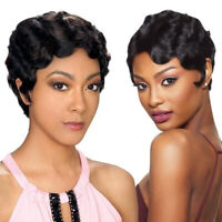 Short Human Hair Wigs For Women Brazilian Hair Curly Lace Front Closure Wig