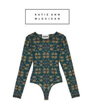 Katie Ann McGuigan - Bodysuit - Size 8 - brand new with box