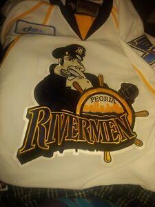 Game worn Peoria Rivermen jersey