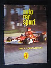 Alken Reeks #670 Book Autorensport, Wim Oude Weernink (Nederlands) (F1BC)