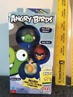 New Angry Birds  3-Pack - Red Bird, Pig in Gray Helmet, White Bird - NIB 2012
