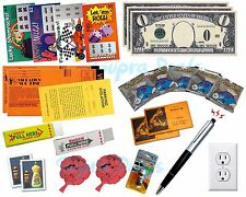 New THE PRANK MEGA KIT No.2, Lot 25x ALL-IN-ONE Gag Kit, Fake Lotto, Fart Bombs