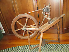 "Antique Spinning Wheel in Working Order Ready to Spin15"" Wheel Local Pickup Only"