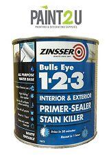 Zinsser - 123 Bulls Eye Primer / Sealer Paint 500ml