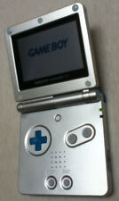 Nintendo Gameboy Advance SP customized blue button silver 001 console no charger