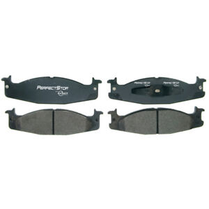 Frt Semi Met Brake Pads  Perfect Stop  PS632M