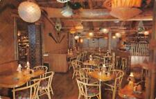 Trader Vic's OUTRIGGER TIKI BAR Interior View, Denver, CO ca 1950s Postcard