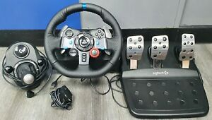 LOGITECH DRIVING FORCE G29 WHEEL, GEARSTICK & PEDAL FOR SONY PS3, PS4, PC (RJK)