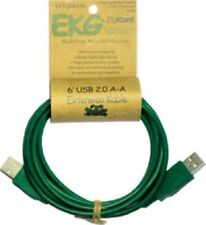 """EarthKables """"Help Keep The Earth Green"""" 6-foot USB 2.0 extension cable"""