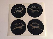 Triumph Stag NEW wheel center stickers