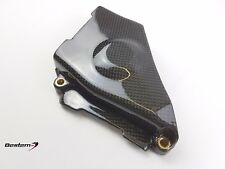 Ducati 749/999 Carbon Fiber Middle Belt Cover With Brass Insert By Bestem SYD