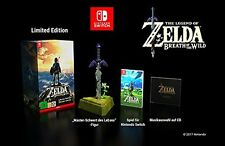 Nintendo SWITCH LEGEND of ZELDA Breath of the Wild Limited Edition  NEU, OVP