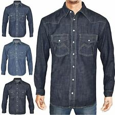 Unbranded Patternless Collared Casual Shirts & Tops for Men