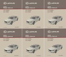 Car truck service repair manuals for lexus ebay 2008 lexus ls 460 ls 460l shop service repair manual complete set sciox Gallery