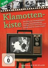 10 DVDs * KLAMOTTENKISTE - DIE STARS DER STUMMFILMÄRA - SAMMLEREDITION #NEU OVP~