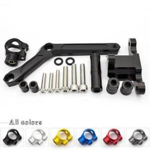 CNC Motorcycle Adjustable Steering Damper Mounting Kit For Benelli BN600 BJ600