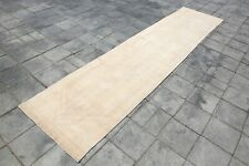 RUNNER RUG oushak 3x12 turkish runner rug halway runner, 2'9x12'1 ft 5151