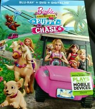Barbie & Her Sisters in A Puppy Chase (Blu-ray + DVD + Digital HD)( Blu- ray)