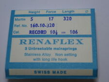 106 Mainspring (Nos) renaflex 1 Only Vintage Record cal