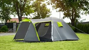 3~ 4 Person Man Family Tent Blue Tent Breathable Outdoor Camping Waterproof dome