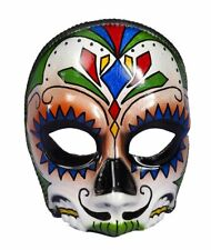 Day of the Dead Eyeglass Frame Mask Fancy Dress Up Halloween Costume Accessory