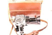 VINTAGE PAILLARD BOLEX zoom Reflex Film Fotocamera Con Custodia